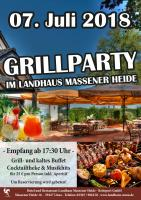 Grillparty im Landhaus Massener Heide!