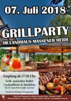 Grillparty im Landhaus Massener Heide!
