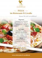 Ab 14:30 Uhr ist wieder PIZZA-TAG im Ristorante Il Cavallo!