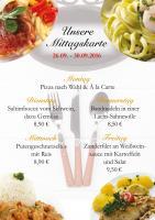 Diese Woche gibt es folgende Gerichte im Ristorante Il Cavallo: