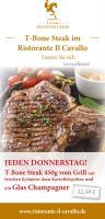 Lust auf ein leckeres T-Bone Steak vom Grill?
